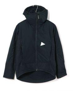 中綿フリースジャケット【twill fleece jacket】|and wander(アンドワンダー)|TOKYOlife(東京ライフ)