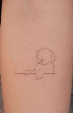 100 Tatuagens de cachorros incríveis para se inspirar - TopTatuagens Party Tattoos, Mini Tattoos, Love Tattoos, Sexy Tattoos, Body Art Tattoos, Future Tattoos, Tatoos, Small Dog Tattoos, Mushroom Tattoos