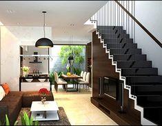Phòng khách vegan coleslaw dressing with cashews - Vegan Coleslaw Home Stairs Design, Home Room Design, Home Design Plans, Home Interior Design, Living Room Designs, Narrow House Designs, Small House Design, Modern House Design, Style At Home