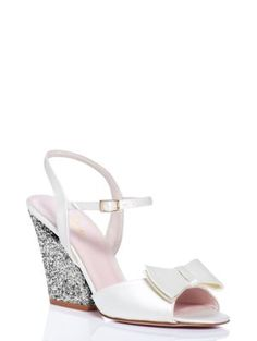 4cf21e4e6aed These would make such lovely wedding shoes... imari heels - kate spade new