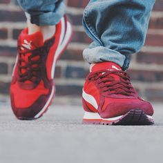 Puma ST Runner Nylon: Red