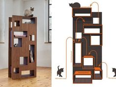 Spoil Your Cat in Style with One of These Seven Modern Design Cat Trees (and Two Modern Cat Shelves)