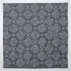 Geo Dots Napkin Set - Gray