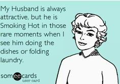 Attractive husband