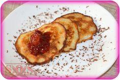 Placki bananowe z 2 składników | Blog Kulinarny Pancakes, French Toast, Breakfast, Blog, Morning Coffee, Pancake, Blogging, Crepes