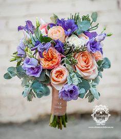 фиолетовый букет на свадьбу - Поиск в Google