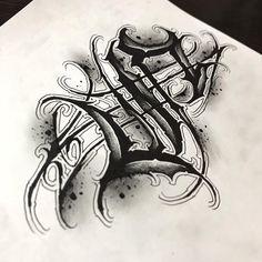 Calligraphy Tattoo Fonts, Tattoo Fonts Alphabet, Tattoo Lettering Styles, Lettering Design, Text Tattoo, Body Art Tattoos, Tattoo Drawings, Money Rose Tattoo, Watercolor Tatto