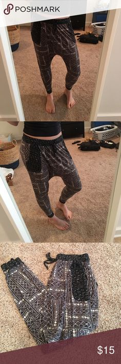 Ecote Harem Soft Pants Gently worn. Super comfy to wear around the house! Urban Outfitters Intimates & Sleepwear Pajamas