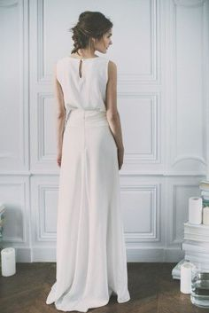 a wedding dress? No a wedding skirt! how beautiful and you can wear it again after the big day!