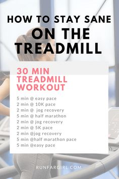 How To Stay Sane On The Treadmill -- Do you find the treadmill to be completely boring? Here are some things you can do to help the miles go by quicker!