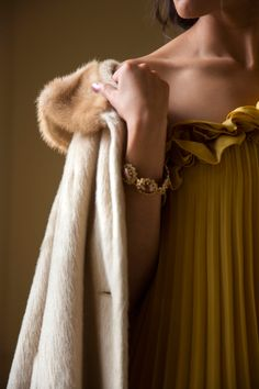 Vintage Fur Coat #winterwishes