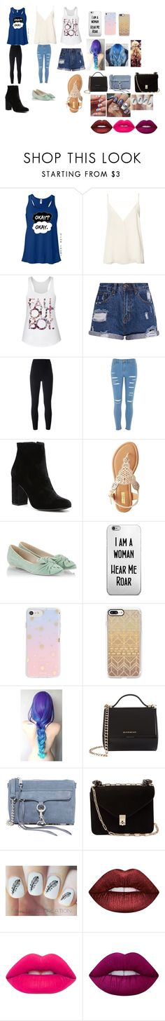 """""""summer outfit"""" by puppy-love8569 ❤ liked on Polyvore featuring Anine Bing, adidas Originals, River Island, Witchery, Qupid, RAS, Sonix, Casetify, Givenchy and Rebecca Minkoff"""