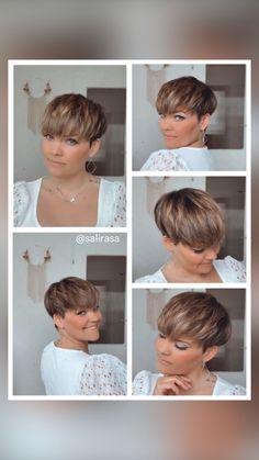 Super Short Hair, Short Hair With Bangs, Short Hair Cuts, Short Hair Styles, Haircuts For Fine Hair, Cute Hairstyles For Short Hair, Pixie Hairstyles, Haircut For Older Women, Sassy Hair