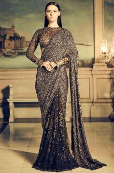 11 Latest Saree Trends for 2018 Sabyasachi Sarees, Lehenga Saree, Saree Dress, Anarkali, Indian Sarees, Saree Designs Party Wear, Saree Blouse Designs, Designer Sarees Wedding, Saree Wedding