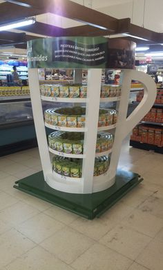 POS Display Knorr Quick Soups by Yamil Manzur, via Behance