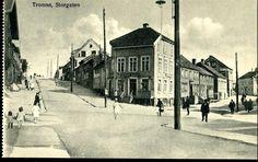 TROMSØ. STORGATEN med folk Utg T.Høegh tidlig 1900 -tall