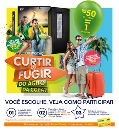 Curtir ou Fugir do Agito da Copa? on Behance