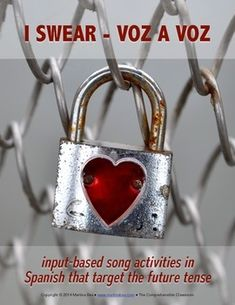 I swear by Voz a Voz - song activities for Spanish students that target the future tense