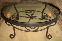 wrought iron side tables coffee tables | wrought iron coffee tables, dining tables, kitchen tables, end tables ...