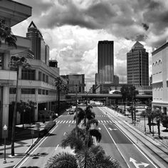 Downtown Tampa....parade routes!