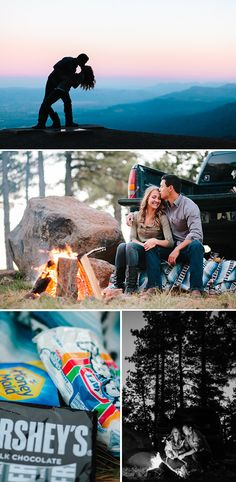 Ah, the great outdoors! This week's Real Engagement features Danielle and Shon's engagement session at the hang gliders launch on Mingus Mountain, near Prescott Valley, Arizona. Their photos are simply breathtaking!