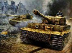 Otto Carius uno de los tanquistas alemanes con más victorias de la segunda guerra mundial con más de 150 tanques destruidos