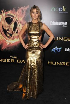 Hands down one of Jennifer Lawrence's best red carpet looks