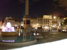Leicester Square at night. Lovely. Sept. 2013