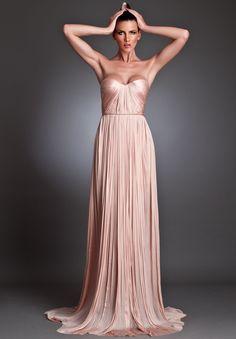 maxi dresses backless   ... Chiffon Strapless Sweetheart Column Backless Long Maxi Evening Dress