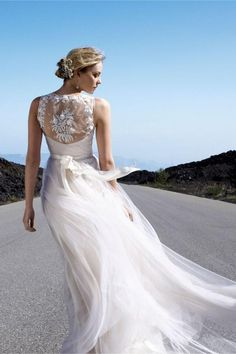 onyx gown with Lace backing