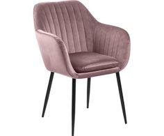 Chaise Velour, Dark Blue Kitchens, Blue Kitchen Designs, Mid Century Dining Table, Emilia, Outdoor Furniture Design, Velvet Armchair, Home Alone, Kitchen Chairs