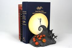 Spiral Hill Bookends - The Nightmare Before Christmas $49.95