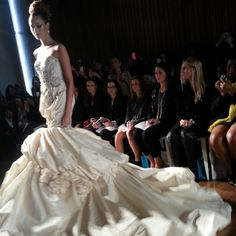 Ines diSanto wedding dress, fall 2014 collection. Photo: Charanna K. Alexander/The New York Times