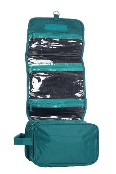 Hanging Toiletry Cosmetics Travel Bag, Teal by BAGS FOR LESSTM Bags For Less http://www.amazon.com/dp/B0055WQEWQ/ref=cm_sw_r_pi_dp_qKDKtb0JEVYE5YVX