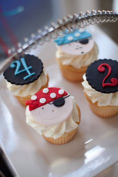 Pirate Themed Brother Birthday Party; great details and ideas