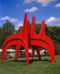 Alexander Calder  Cheval Rouge (Red Horse), 1974  Courtesy Calder Foundation, New York  © 2002 Estate of Alexander Calder/Artists Rights Society (ARS), NY