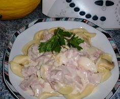 Rezept Schnelle Tortellini mit Frischkäsesoße oder Auflauf vom onlineversand-hobbykoch von la lunica strega - Rezept der Kategorie sonstige Hauptgerichte