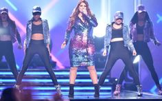 Meghan Trainor performs at the Billboard Music Awards