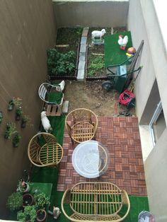 Bahçe dekorasyon, ben yaptım, hobi bahçesi, küçük alanları kullanın
