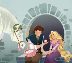 Flynn Rider, Rapunzel, Pascal, and Maximus - Tangled (Last pin on this board) Disney Rapunzel, Disney Pixar, Rapunzel And Eugene, Tangled Rapunzel, Best Disney Movies, Disney And Dreamworks, Disney Animation, Disney Characters, Tangled Funny