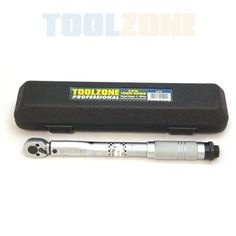 "Toolzone Professional 3/8"" Drive Torque Wrench 5-25 Nm by Toolzone, £28 http://www.amazon.co.uk/dp/B0077AQHRG/ref=cm_sw_r_pi_dp_b0aGrb1FRBXB1"