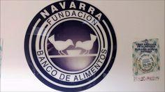 Visita al Banco de alimentos de Navarra