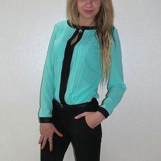 Resultado de imagen para bluSAS elegantes de damas DE CHIFON