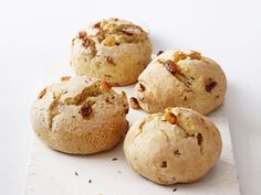 Soda-Bread Biscuits from FoodNetwork.com  I have got to try this!!  I love the big loaf version.