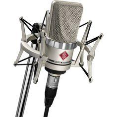 Neumann TLM 102 Studio Set Cardioid Large Diaphragm Condenser Microphone Set for sale online Microphone Studio, Vintage Microphone, Recording Studio Home, Dj Equipment, Studio Equipment, Studio Gear, Live Music, Dream Music, Bucket Lists