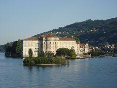 Isola dei Pescatori, Borromean Islands on Lake Maggiore, Italy