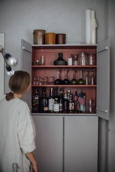 IKEA Hacks: 33 ways to update your affordable furniture in a day - Küche Ikea Ivar Cabinet, Ikea Cabinets, Ikea Furniture, Furniture Design, Ivar Ikea Hack, Ivar Regal, Affordable Furniture, House Tours, Interior Inspiration