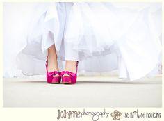 chaussures mariage de couleur