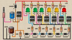 How to Build a Non-contact Voltage Detector Electronics Projects, Electronics Components, Diy Electronics, Basic Electrical Wiring, Electrical Circuit Diagram, Electrical Projects, Mechatronics Engineering, Electronic Engineering, Electrical Engineering