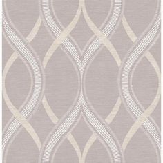 Brewster Wallcovering Grey Strippable Non-Woven Paper Unpasted Classic Wallpaper Damask Wallpaper, Wood Wallpaper, Geometric Wallpaper, Wallpaper Samples, Wallpaper Roll, Designer Wallpaper, Wallpaper Awesome, Accent Wallpaper, Wallpaper Borders
